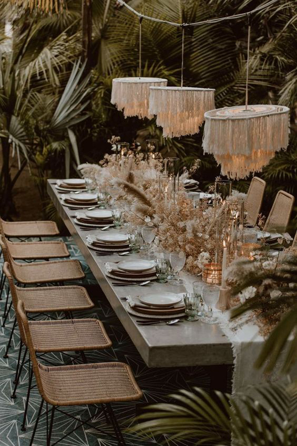 hanging-tropical-wedding-lights