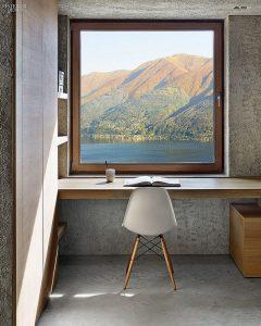 minimalist-wood-workspaces-with-lake-view