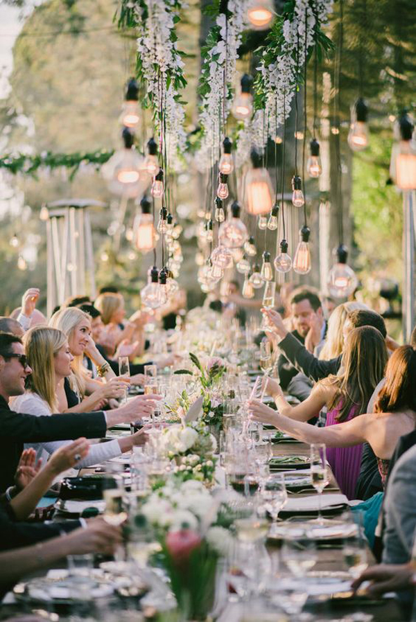 rustic-outdoor-wedding-with-hanging-lights