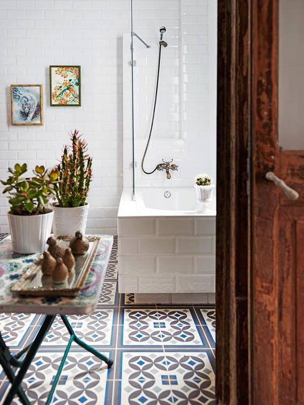 vintage-bathroom-design-with-bohemian-style