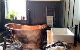 vintage-bathroom-style-with-copper-tub