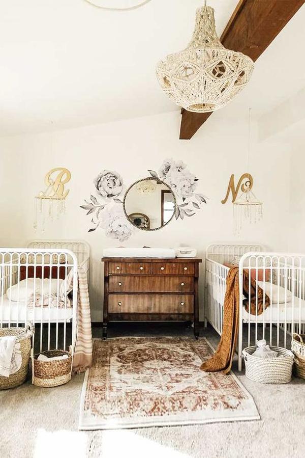 vintage-twin-nursery-decoration
