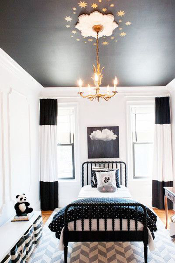 whimsical-bedroom-design-with-painted-ceilings