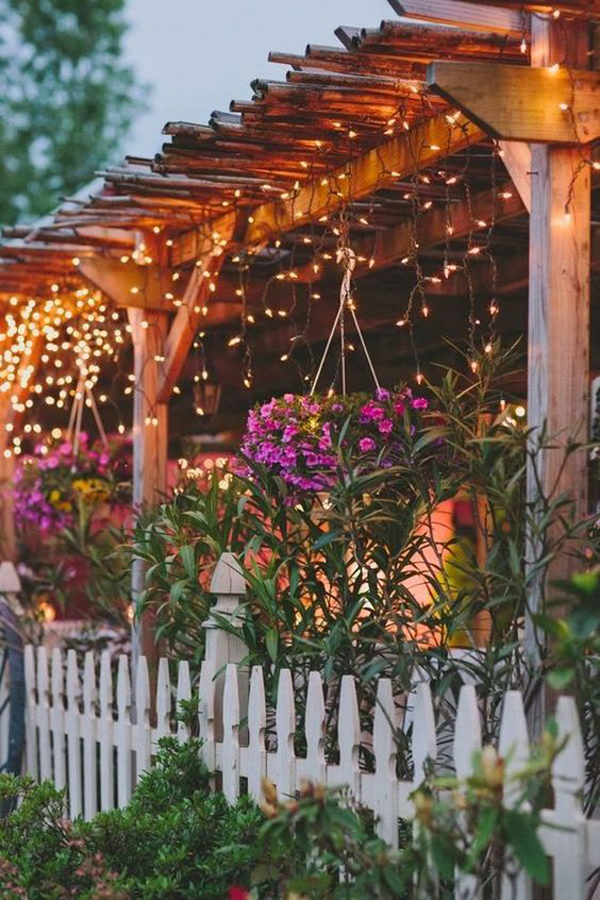 beautiful-backyard-patio-lighting-with-floral