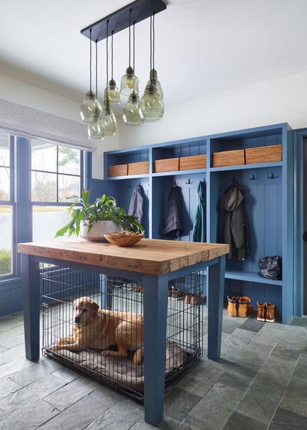 blue-mudroom-dog-kennel-ideas