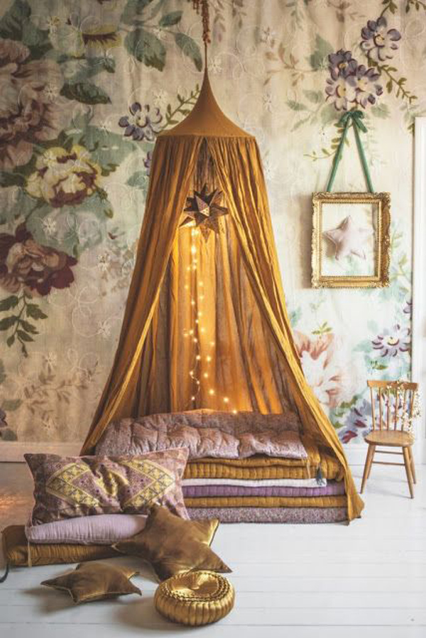 bohemian-kids-canopy-reading-nook