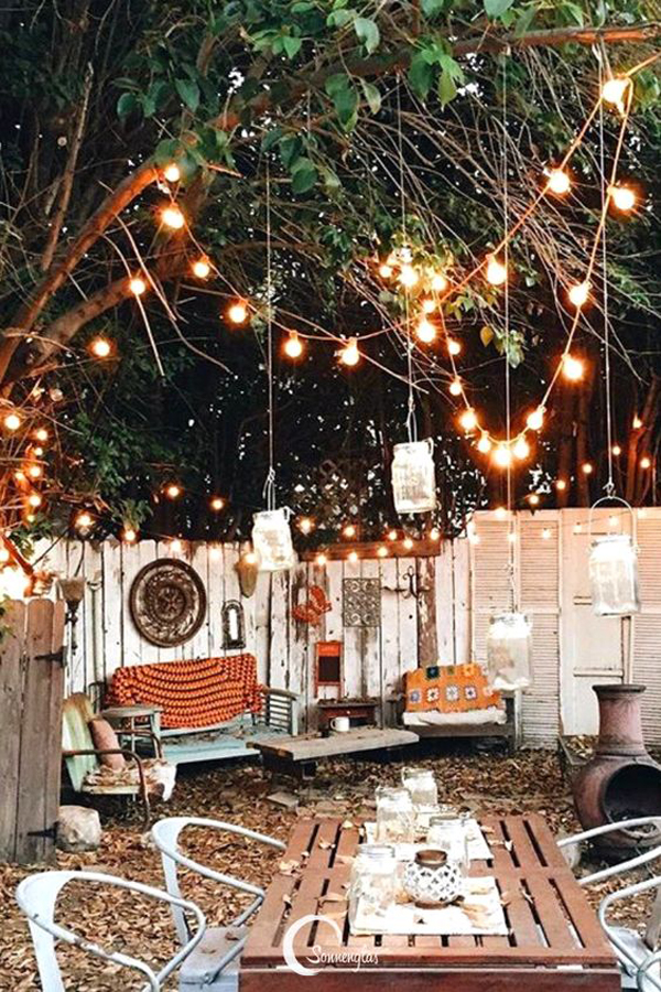 boho-outdoor-space-with-string-lighting-ideas