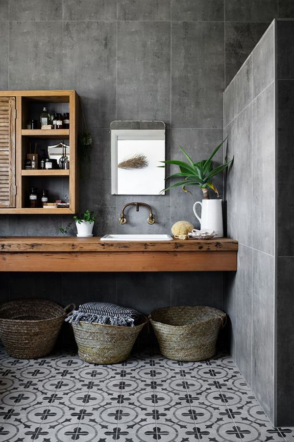 country-style-bathroom-with-black-stone-decor