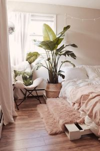 cozy-bedroom-nest-for-nature-lover