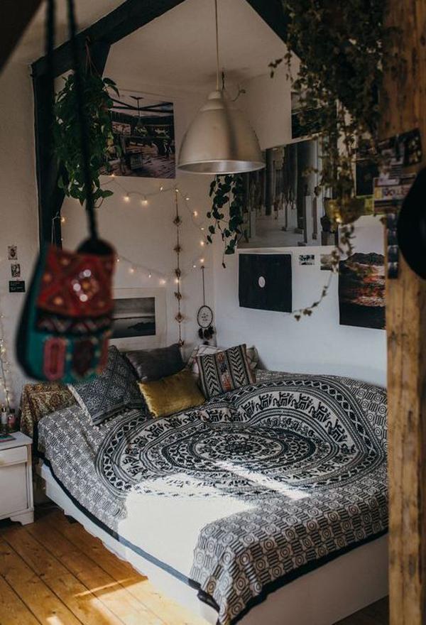 cute-boho-style-bedroom-for-lazy-teen