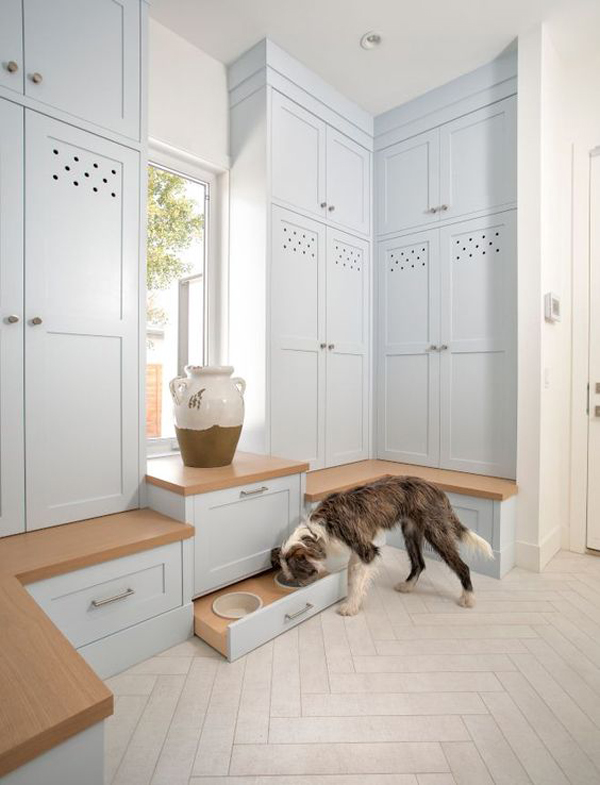 home-entryway-with-hidden-dog-fedding-station
