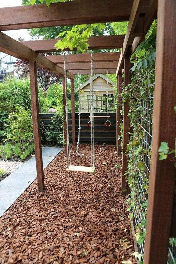 kids-friendly-backyard-garden-with-swings