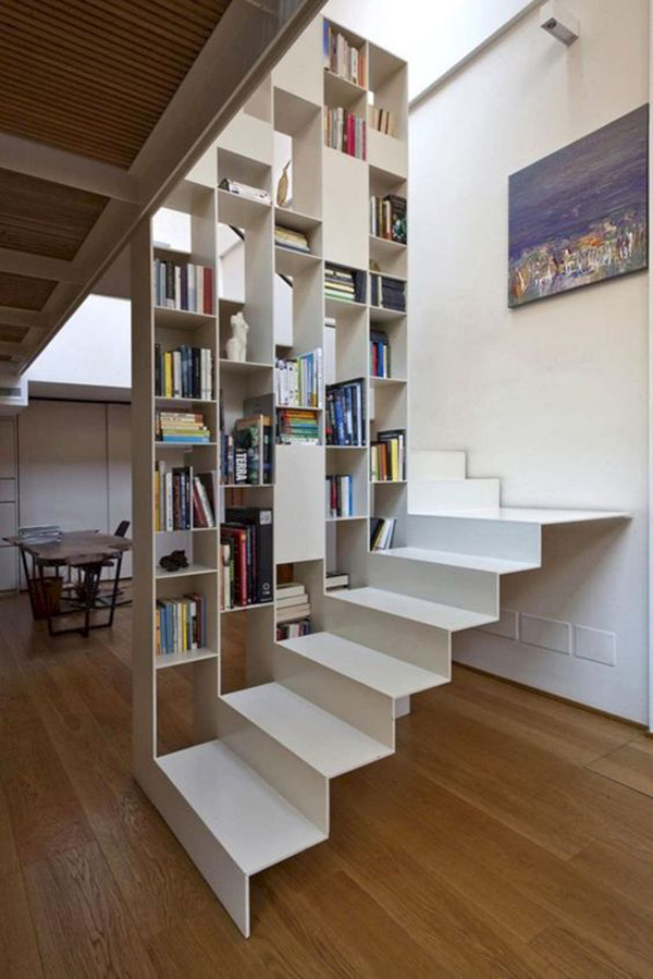 modern-sloating-stairs-with-bookshelf