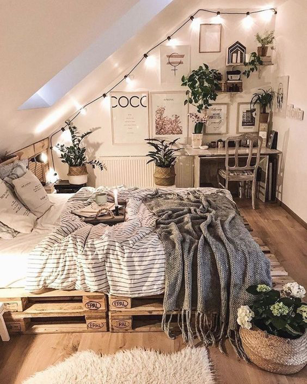 pretty-loft-bedroom-for-lazy-day