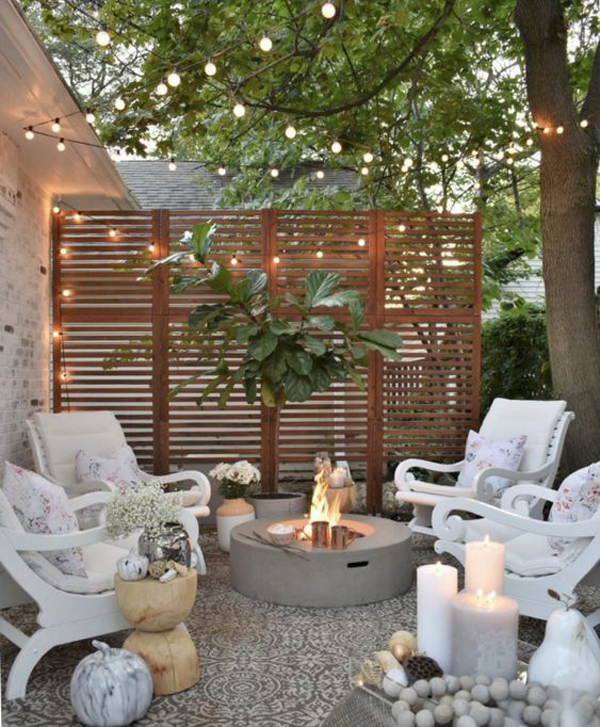 shabby-chic-backyard-seating-area-with-string-light