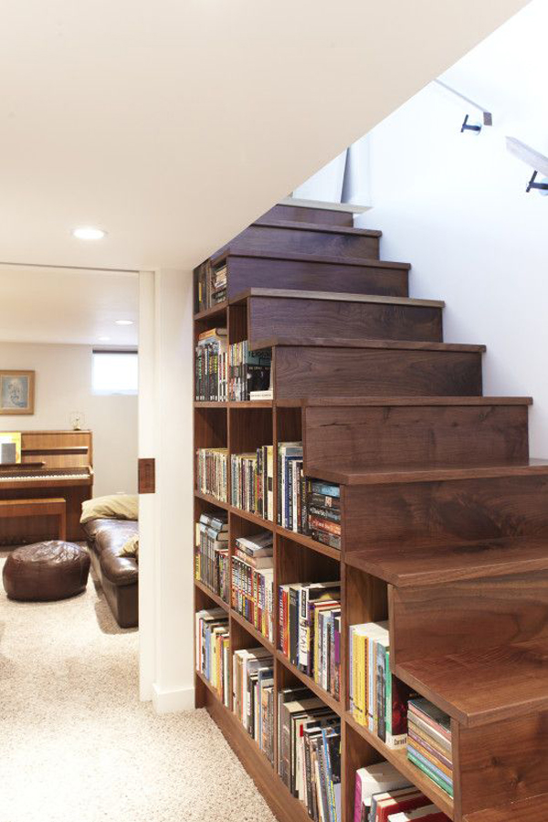 under-stair-wood-bookshelves-design
