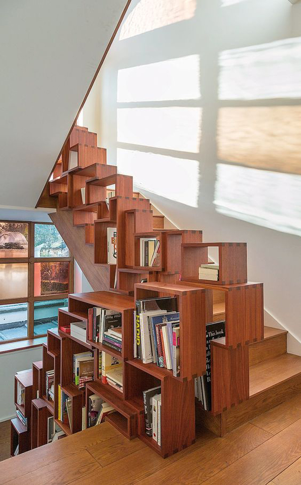 unique-stair-with-wood-library