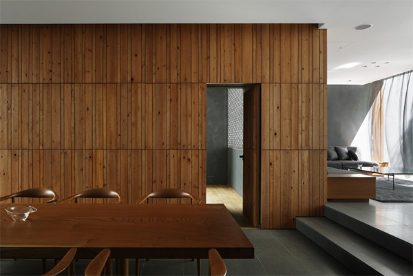 wood-dining-room-with-room-dividers