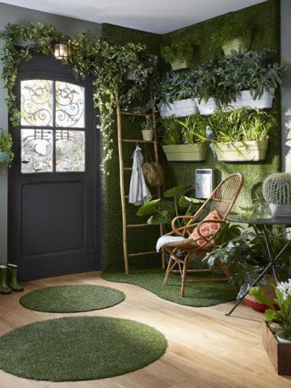 boho-chic-grass-interior-design