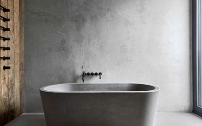 concrete-bathroom-design-with-pallet-decor