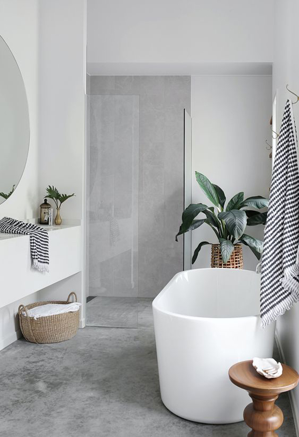 concrete-bathroom-with-beach-inspired