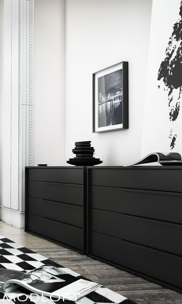 cool-black-cabinet-display-ideas