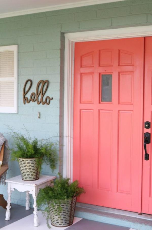 coral-front-door-design