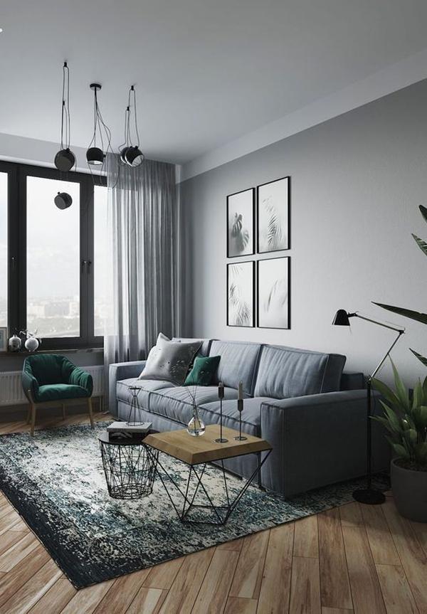 grey-masculine-living-room-interior