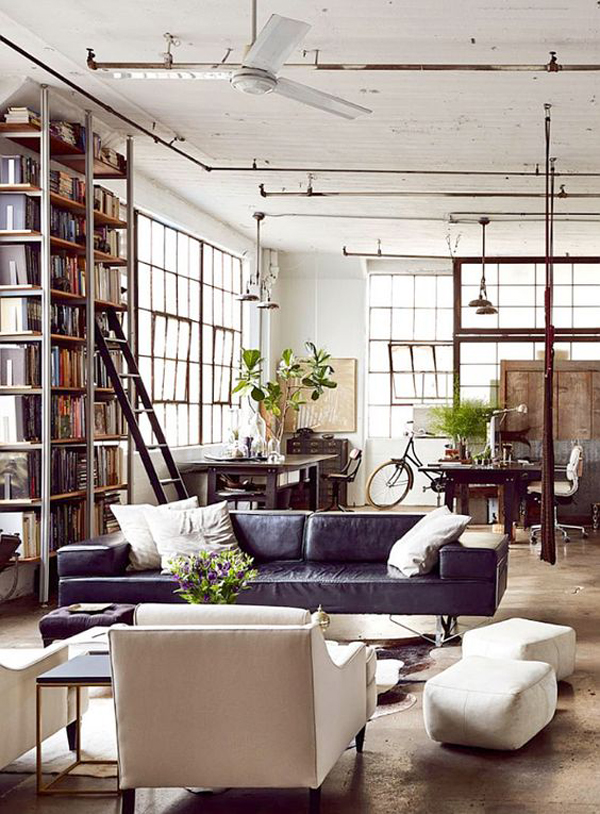 industrial-style-living-room-for-men