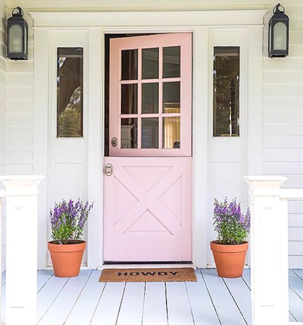 light-pink-dutch-door-design
