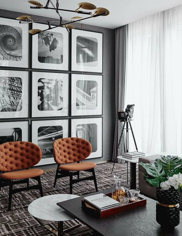 masculine-living-rooms-with-gallery-wall
