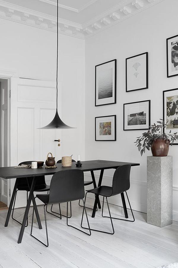 minimalist-black-dining-room-furniture-set