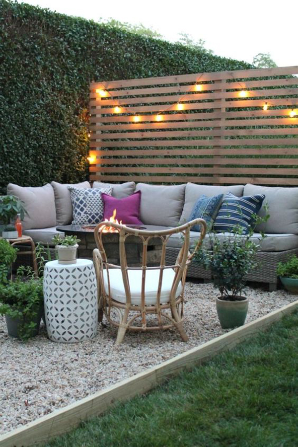 modern-rustic-outdoor-private-garden-with-gravel-decor