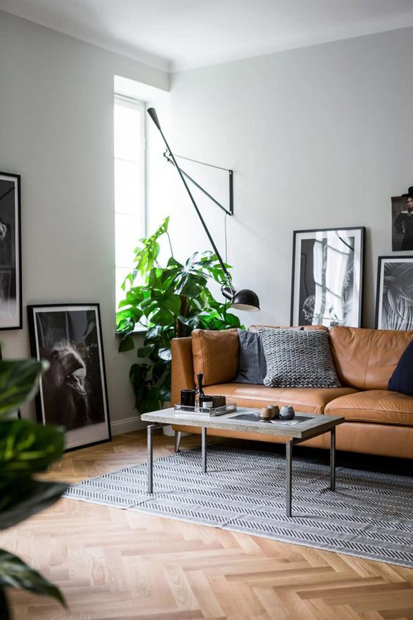 moody-masculine-living-rooms-with-leather-sofas