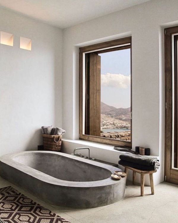 morrocan-concrete-bathtub-ideas