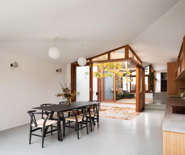 open-wood-dining-room-ideas