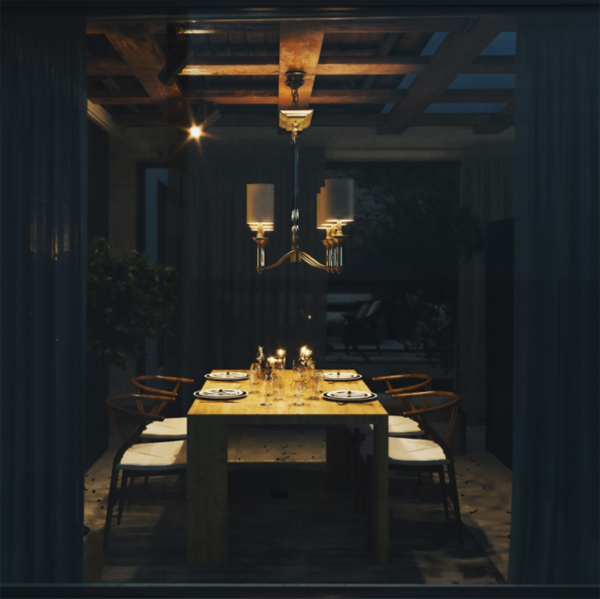 romantic-dining-area-in-mountain-house