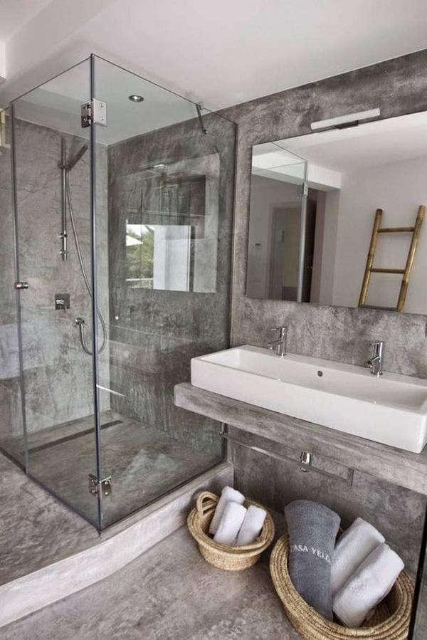 stylish-concrete-bathroom-with-glass-shower