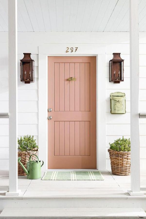 trendy-pink=front-door-ideas