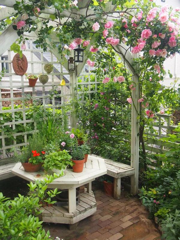 wooden-small-garden-nook-among-the-flower
