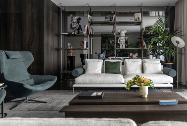 The Temple: Bachelor's Apartment With Miami Moods
