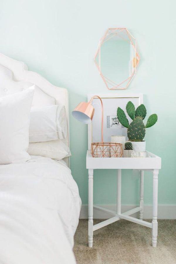 beautiul-mint-bedroom-wall-color
