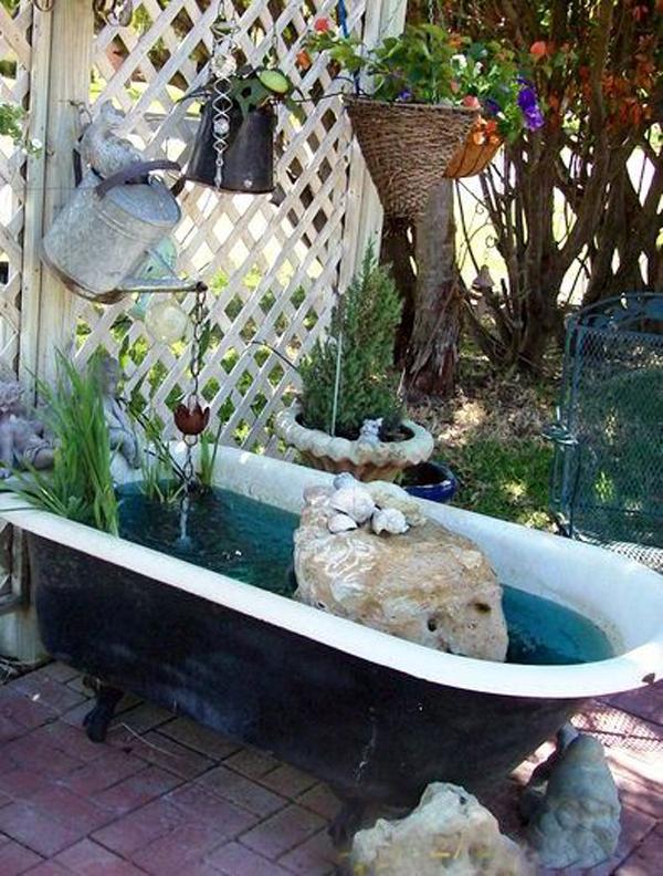 beauty-bathtub-garden-pond-decor