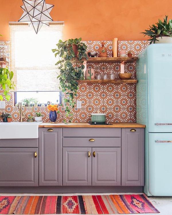bohemian-style-kitchen-wallpaper