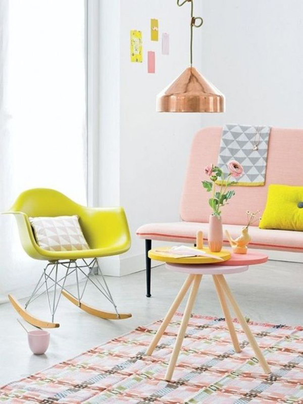 colorful-summer-living-room-with-pink-color