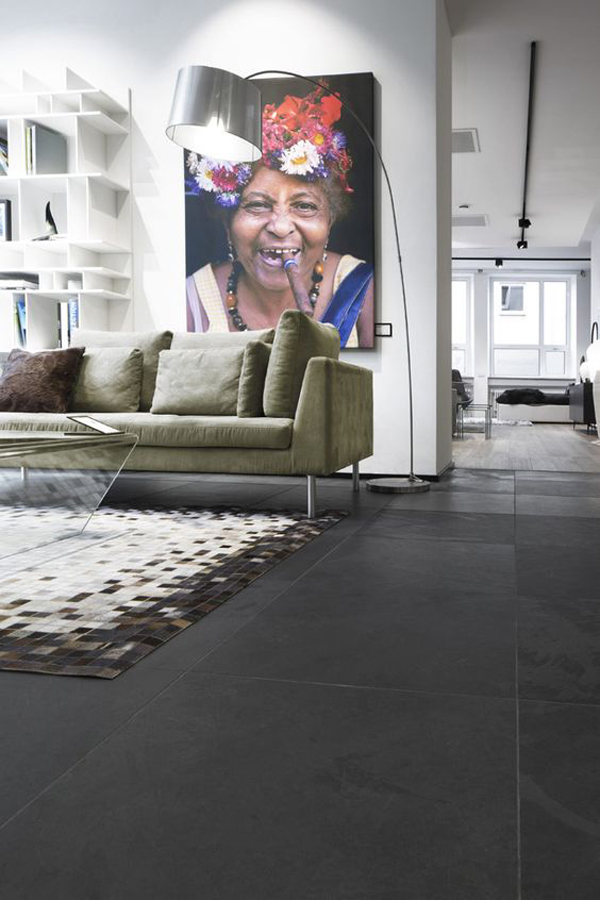 cool-living-room-with-black-tile-floor