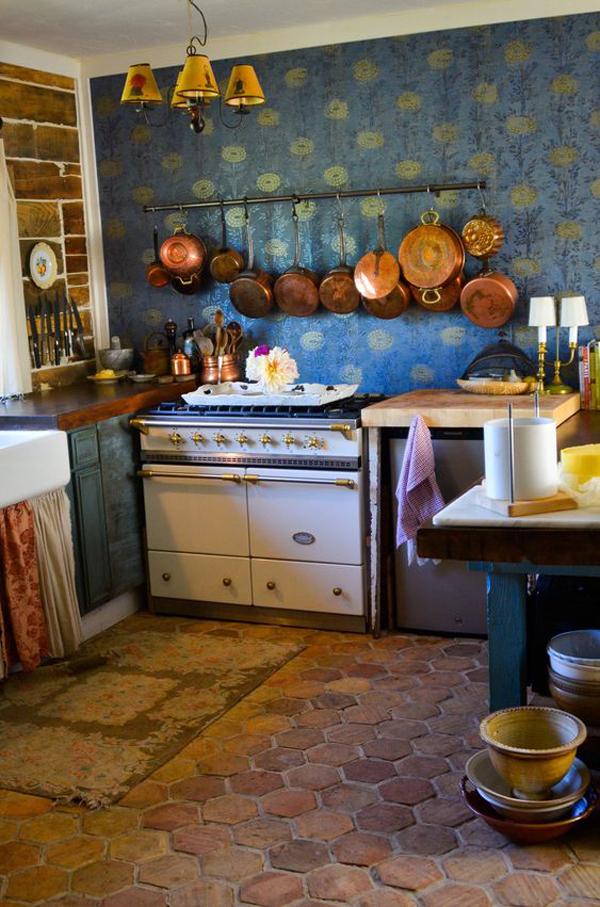 farmhouse-kitchen-wallpaper-design