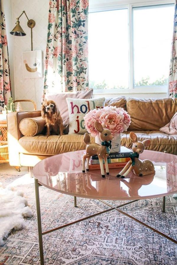 floral-summer-living-room-ideas
