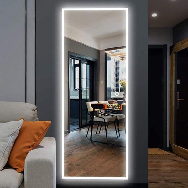 led-light-full-length-mirror-design