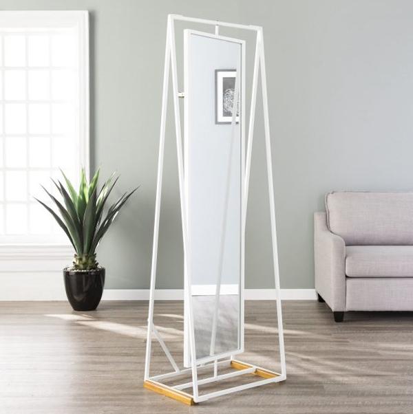 minimalist-full-length-mirror-with-storage-rack